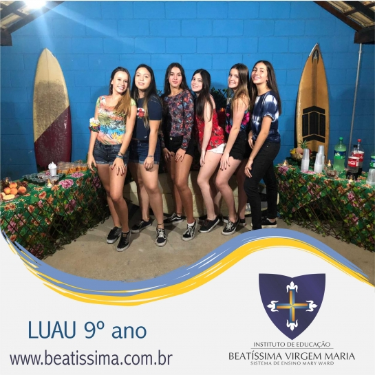 LUAU DO 9º ANO