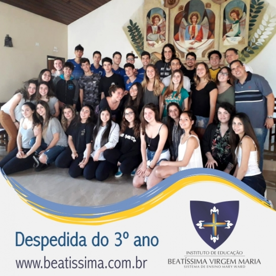 DESPEDIDA DAS TURMAS DO 3º ANO